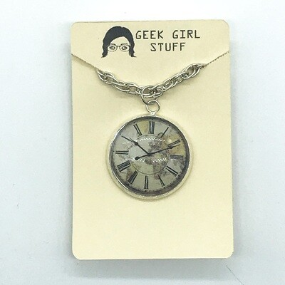 Photo Necklace - Clock