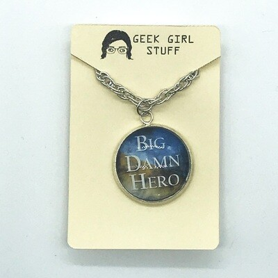 Photo Necklace - Big Damn Hero