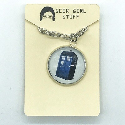 Photo Necklace - Tardis
