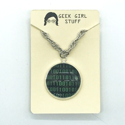 Photo Necklace - Binary
