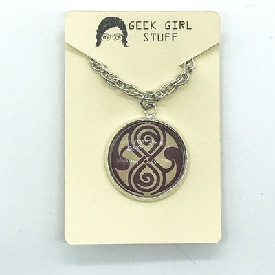 Photo Necklace - Seal of Rassilon