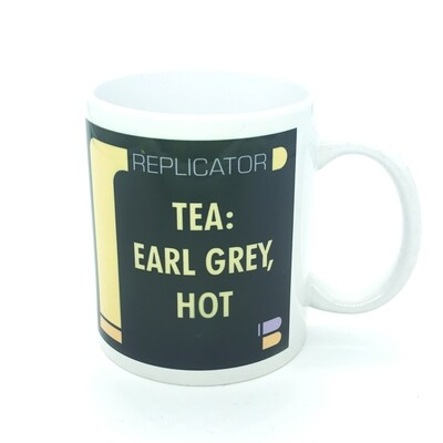 Coffee mug - Tea: Earl Grey, Hot