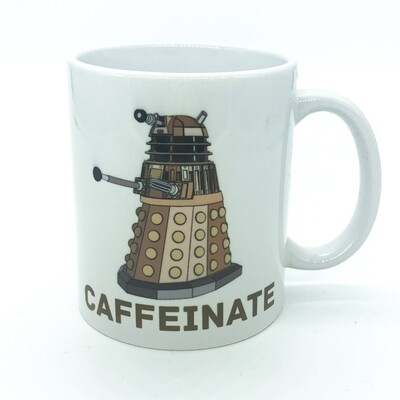Coffee mug - Caffeinate