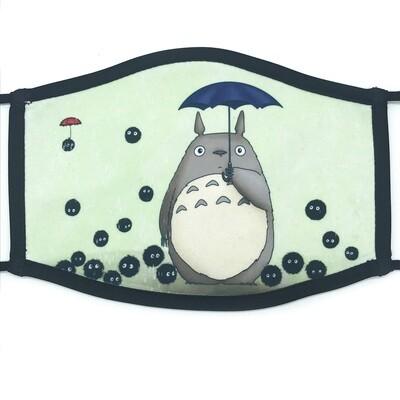 It's Raining Soots fabric mask - large