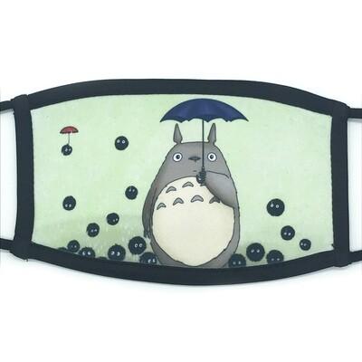 It's Raining Soots fabric mask - small/medium