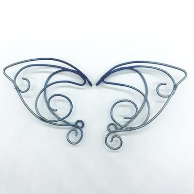 Elf Ear Cuff - Anodized Niobium variation 4