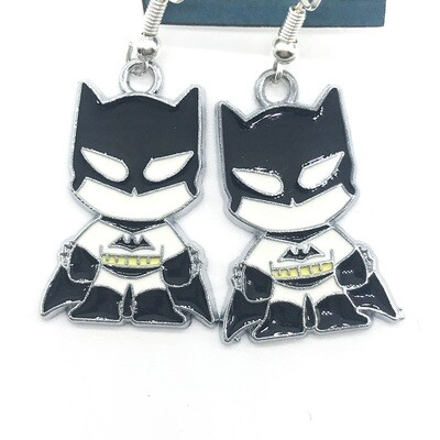 Bat hero earrings