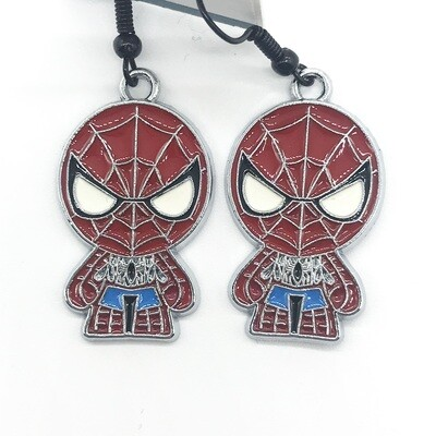 Spider hero earrings