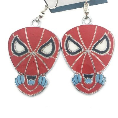 Spider hero big head earrings