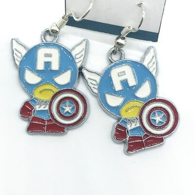 American hero earrings