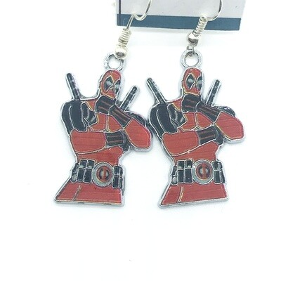 Mercenary hero earrings