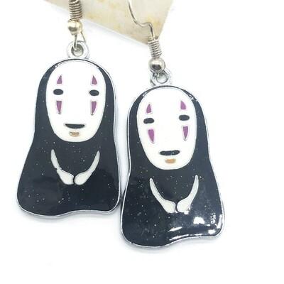 Zen faceless friend earrings