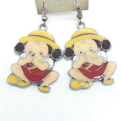 Neighbor child friend earrings