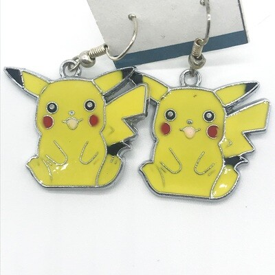 Happy lightning pet earrings