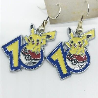 Lightning pet 10 earrings