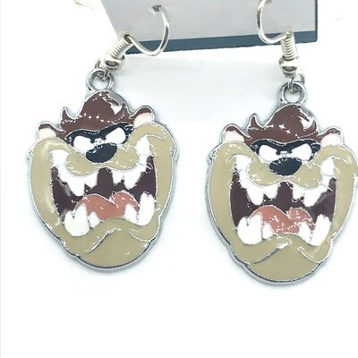 Crazy friend earrings