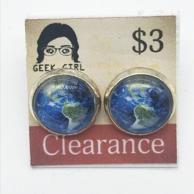 Photo Earrings - Earth