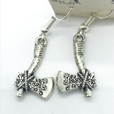 Tomahawk earrings