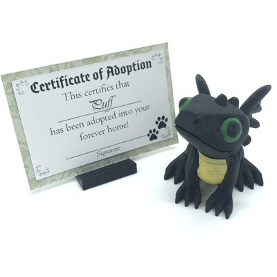 Adopt a Baby Dragon - Puff