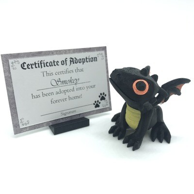 Adopt a Baby Dragon - Smokey