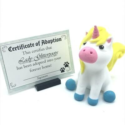 Adopt a unicorn - Lady Glitterpoops
