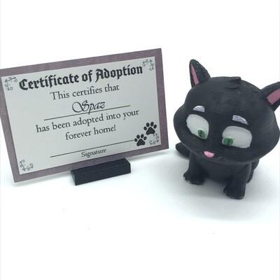 Adopt a kitten - Spaz