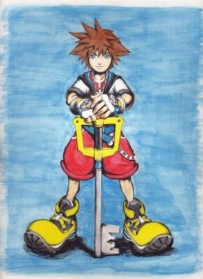 Sora painting
