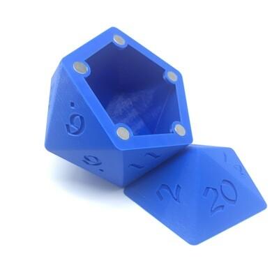 D20 Dice Box - Blue