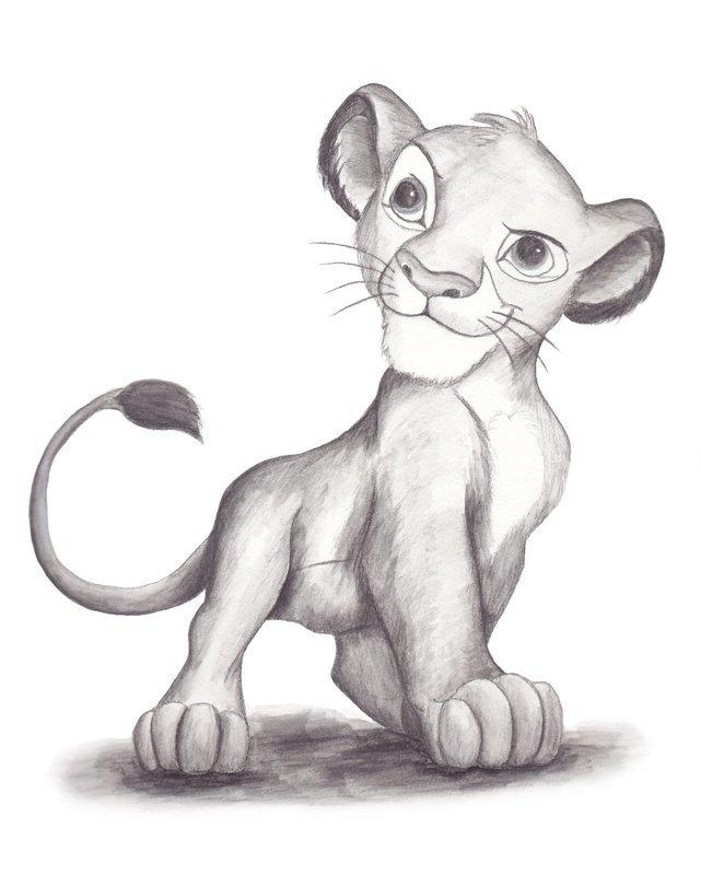 Cub drawing