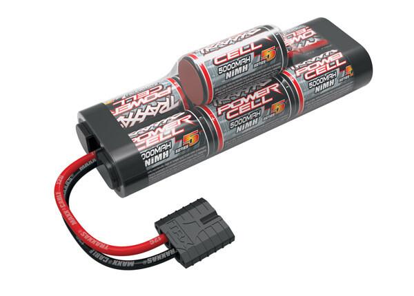 Traxxas Battery, Series 5 Power Cell ID, 5000mAh (NiMH, 8.4V hump)