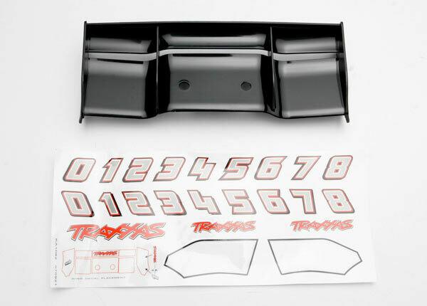 Wing, Revo (Black)/Decal Sheet
