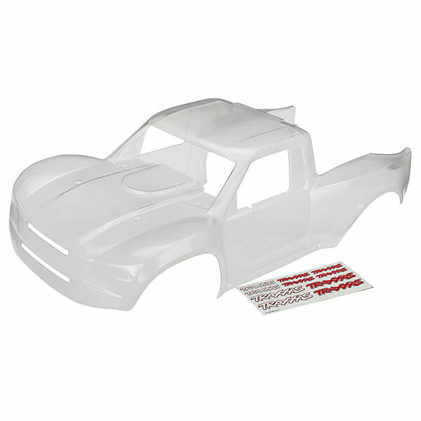 Traxxas Body, Desert Racer (Clear, Trimmed, Requires Painting)