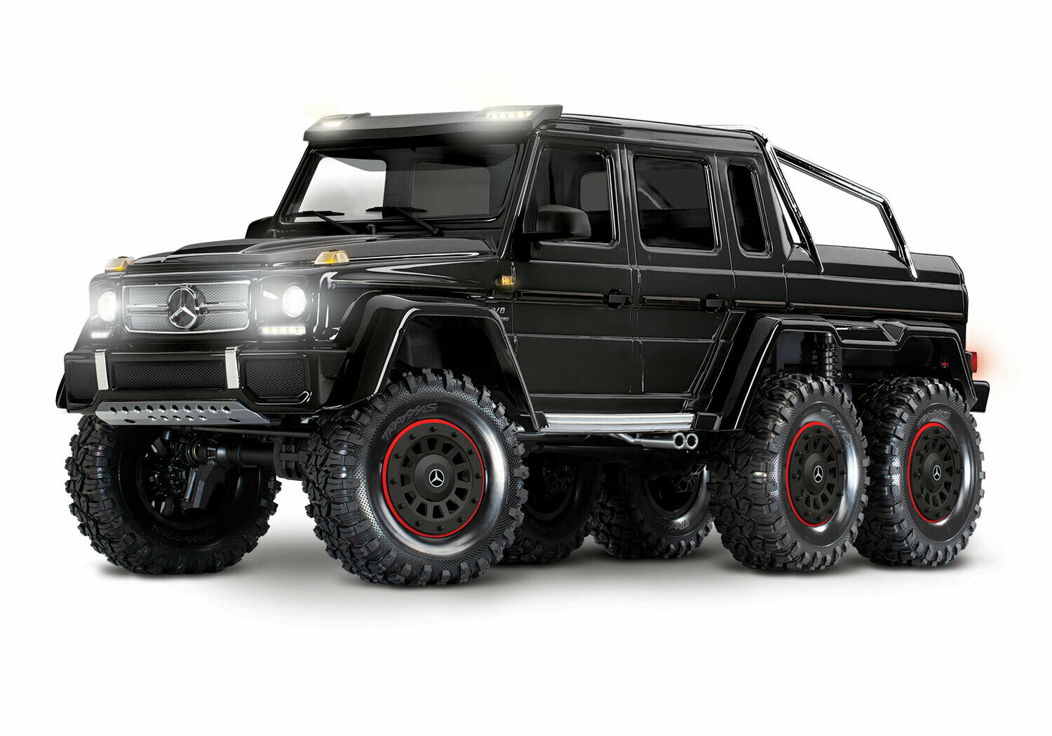 Traxxas TRX-6 Mercedes-Benz G 63 AMG 6x6 (XL-5HV, TQi, LED Lights) (No Battery or Charger)