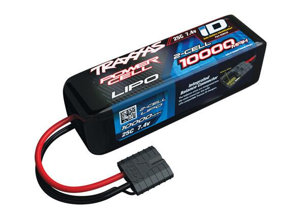 Traxxas 10000mAh 7.4V 2S 25C LiPo ID Battery (135x42x45mm)
