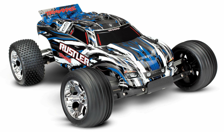Traxxas Rustler XL-5 2WD (2.4GHz TQ/8.4V/DC Charger)
