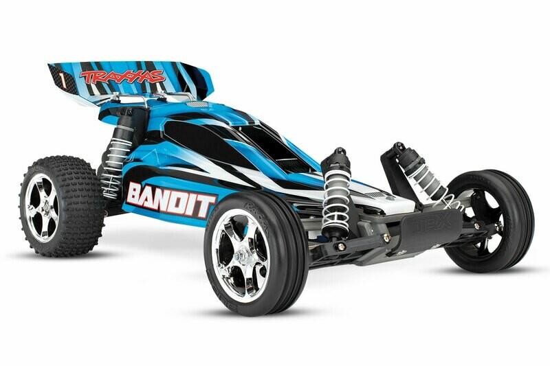 Traxxas Bandit XL-5 2WD (2.4GHz TQ/8.4V/DC Charger)