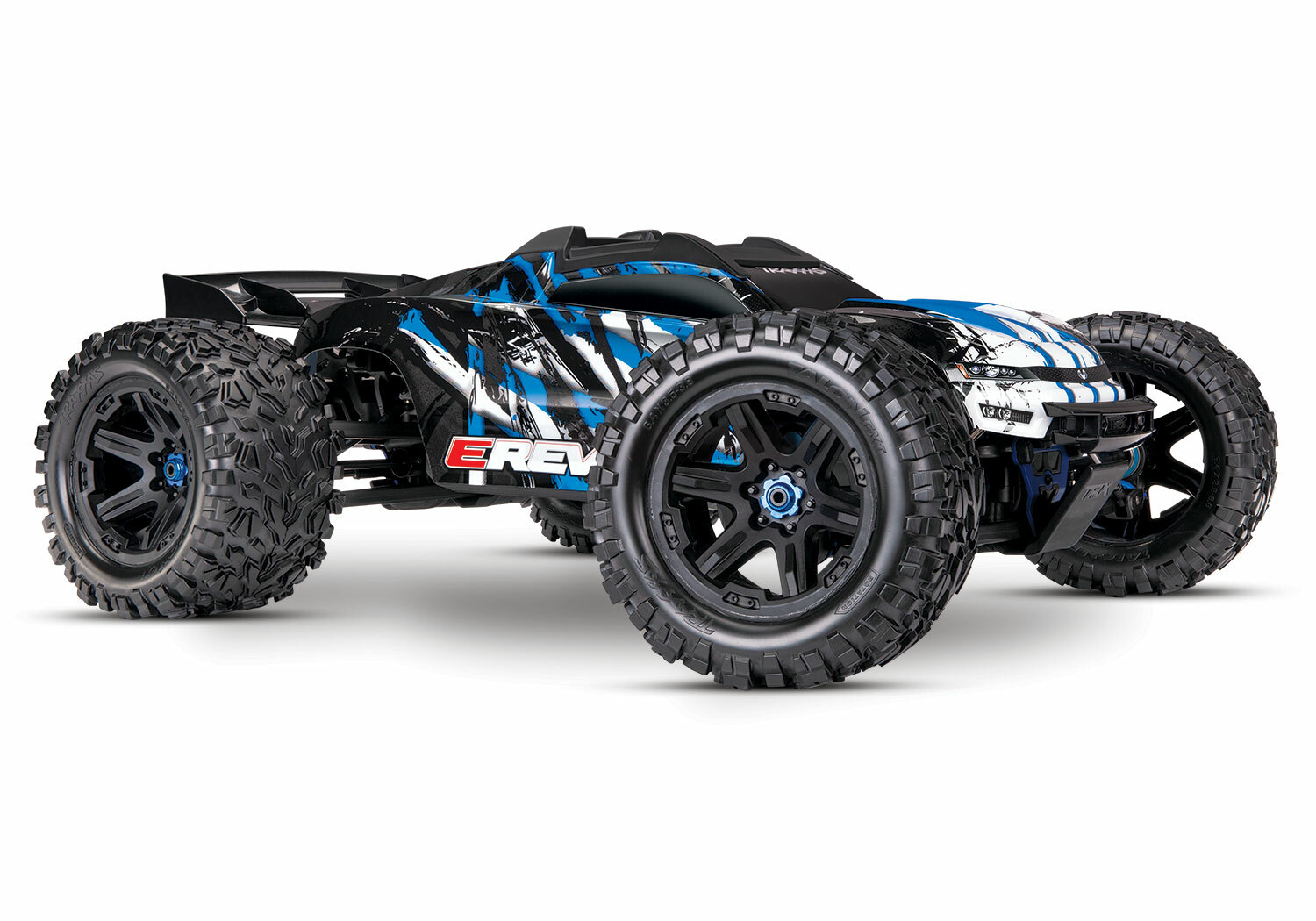 Traxxas E Revo 2.0 4WD Brushless Electric Racing Monster Truck (VXL-6S/TQi/No Battery or Charger)