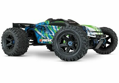 Traxxas E Revo 2.0 4WD Brushless Electric Racing Monster Truck (VXL-6S/TQi/No Battery or Charger) TRX86086-4