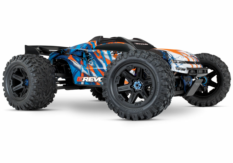 Traxxas E Revo 2.0 4WD Brushless Electric Racing Monster Truck (VXL-6S/TQi/No Batt/No Chg)