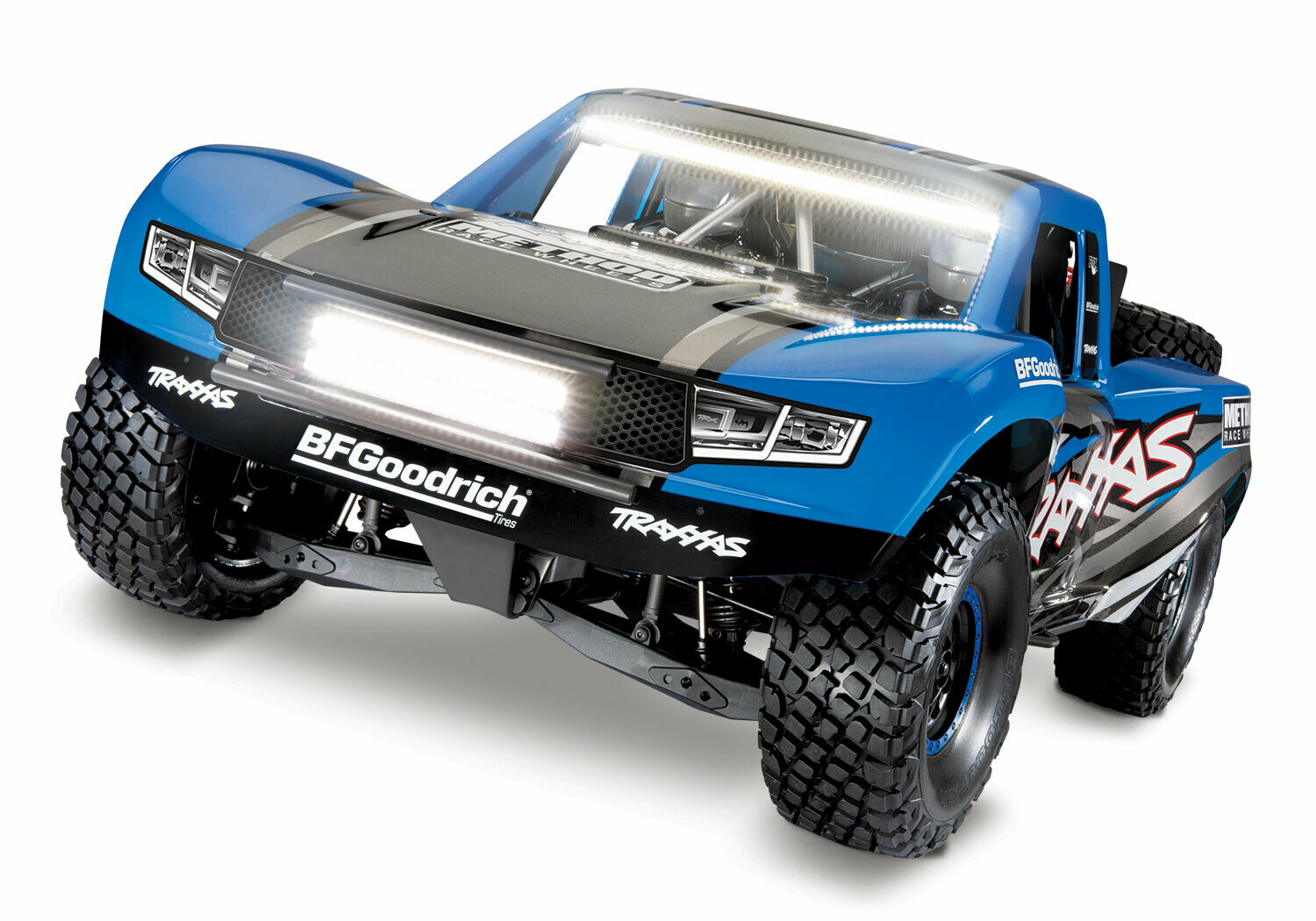 Traxxas UDR Unlimited Desert Racer Pro-Scale™ with Lights (VXL-6S/TQi/No Batt/No Chg)