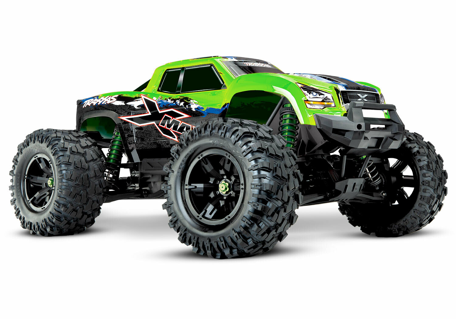 Traxxas X-Maxx 8S 4WD COMBO DEAL 2 1/7 (VXL-8S/TQi/Wireless Module/2x4S 6700mAh/Dual Live iD Charger/Phone Mount)