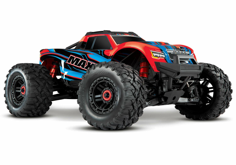 Traxxas Maxx 1/10 4WD VXL (TQi, TSM, 3S 5000mAh Battery, Live iD Charger)