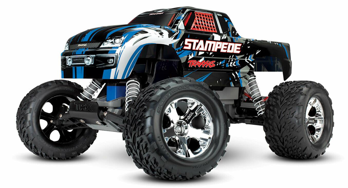 Traxxas Stampede XL-5 2WD (TQ/8.4V/DC Chg)