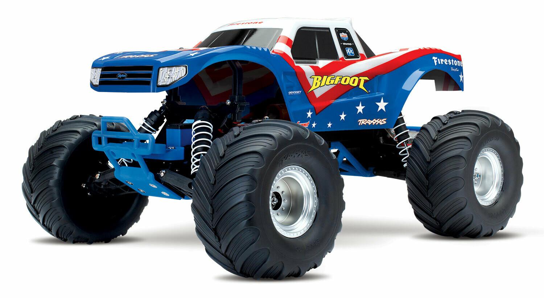Traxxas BigFoot 1/10 Monster Truck (TQ/8.4V/DC Chg)