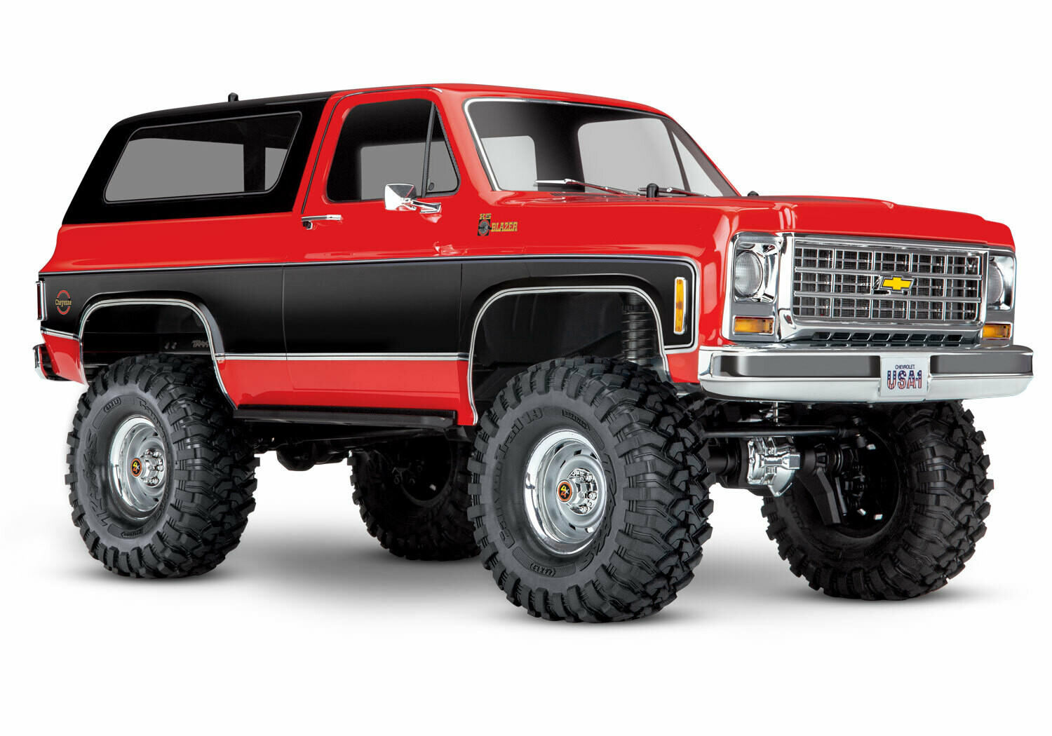 Traxxas 1979 Chevrolet Blazer TRX-4 Crawler (TQi/No Battery or Charger)