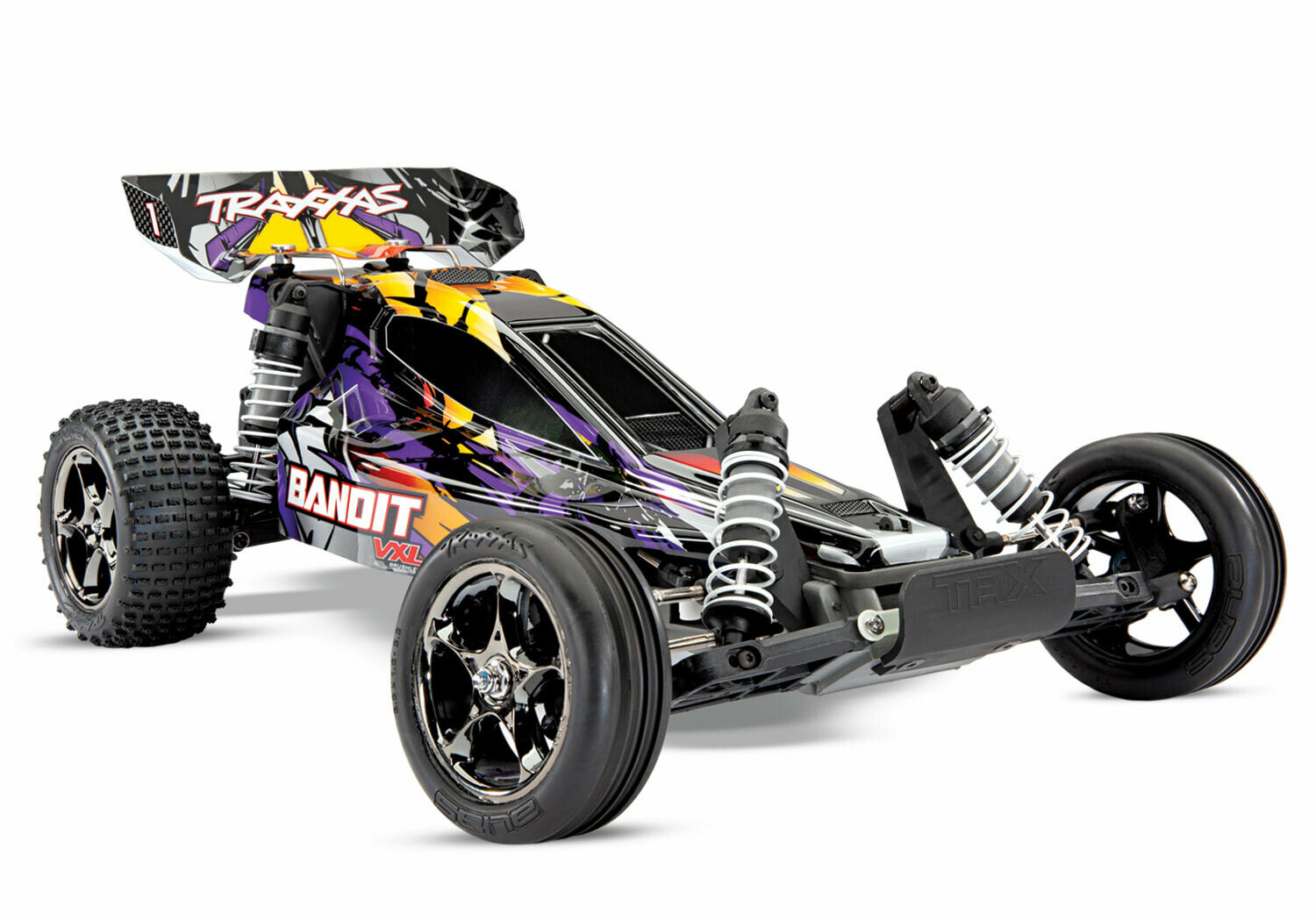 Traxxas Bandit VXL Brushless 2WD TSM (TQi/No Battery or Charger)