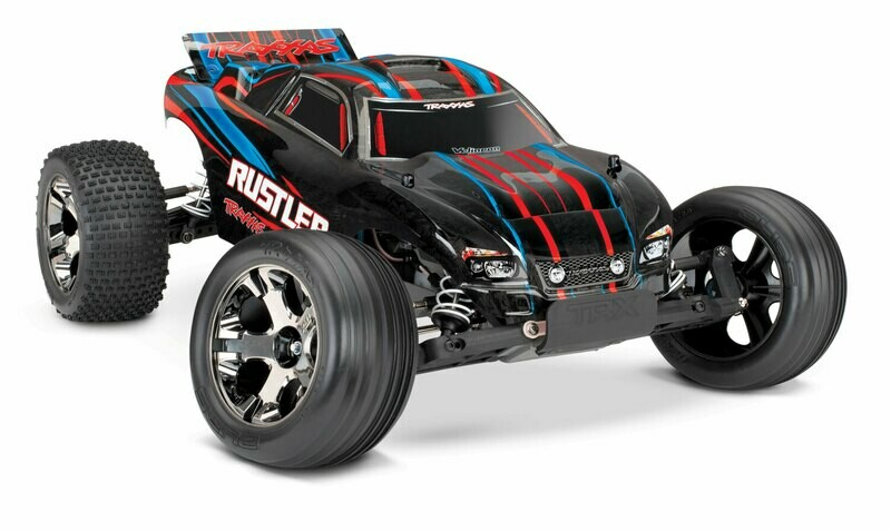 Traxxas Rustler VXL Brushless 2WD TSM (TQi/No Battery or Charger)