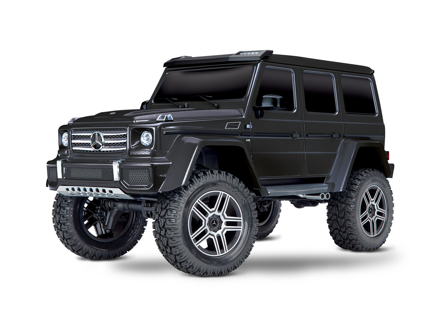 Traxxas Mercedes G500 TRX-4 Crawler (TQi/No Battery or Charger)