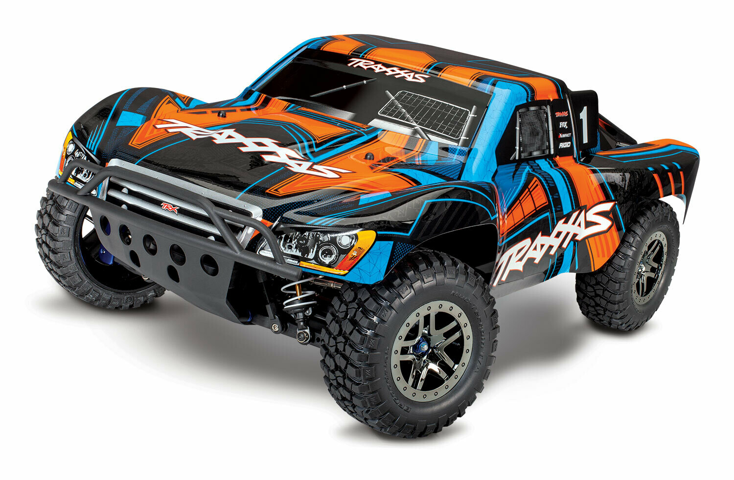 Traxxas Slash 4x4 Ultimate VXL Brushless TSM (TQi Bluetooth®/No Battery or Charger) + Includes FREE Traxxas Phone Mount