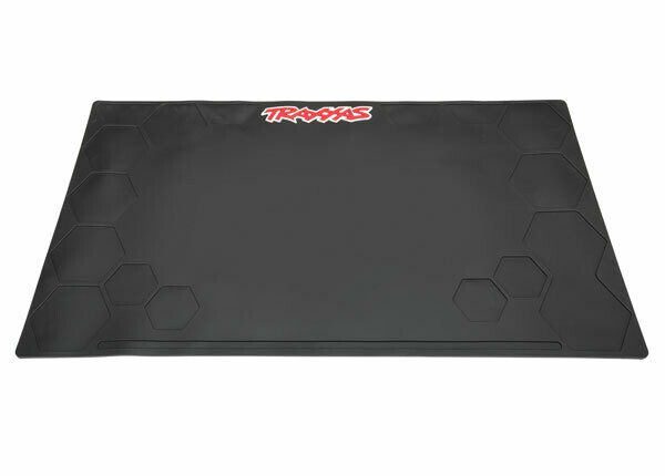 "Traxxas Heavy Duty Rubber Pit Mat, 36x20x0.2"" (91x51x5mm)"